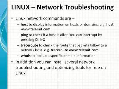 Basic Linux Networking commands