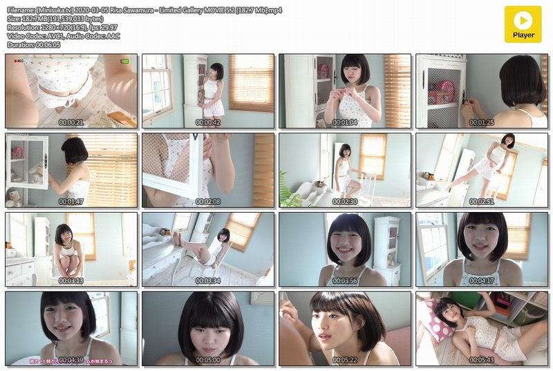 434 [Minisuka.tv] 2020-03-05 Risa Sawamura – Limited Gallery MOVIE 5.2 [182.7 Mb]