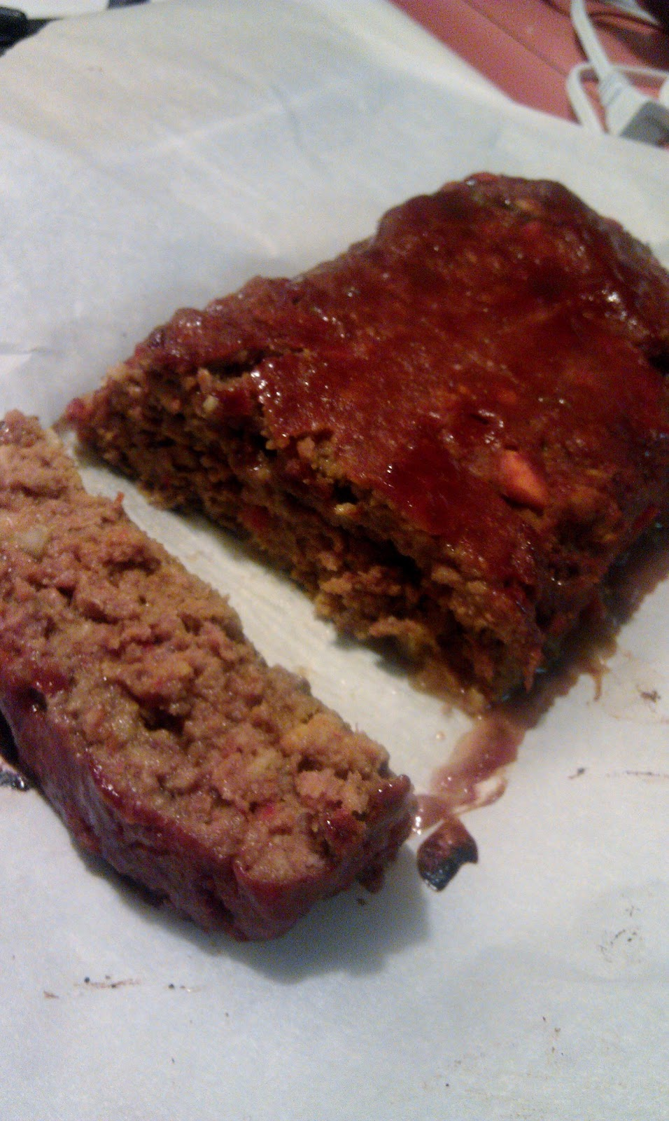 Frugal foodie mama april 2012 i actually only made half of this recipe i was pretty sure that my husband and i would be unable to eat an entire 2 lb meatloaf in a few days forumfinder Image collections