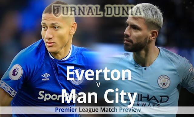 Prediksi Everton vs Manchester City, Selasa  29 Desember 2020 Pukul 03.00 WIB