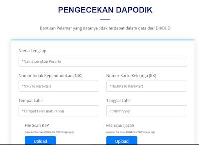 SEGERA LAPOR! Berikut Cara Melaporkan Data Pelamar PPPK Guru Tidak Terdaftar Di Dapodik