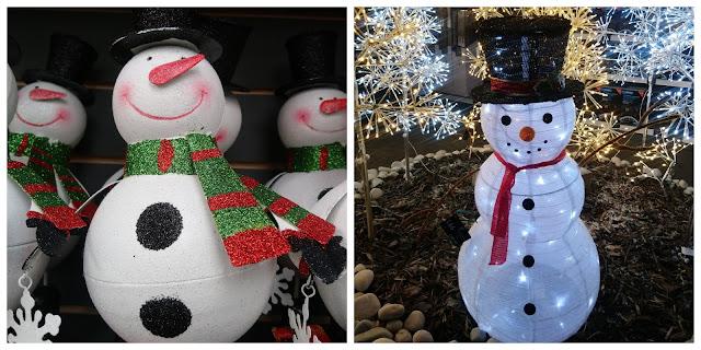 Garson's snowmen display
