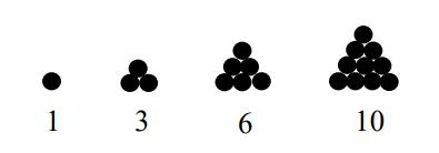 Gambar Pola Bilangan Segitiga