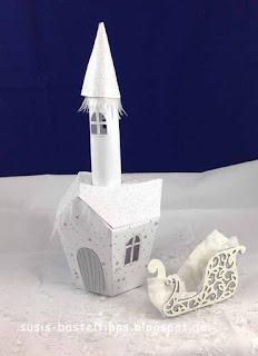 Stampin' Up! Miniatur Märchenland ein Haus für alle Fälle Eispalast der Schneekönigin