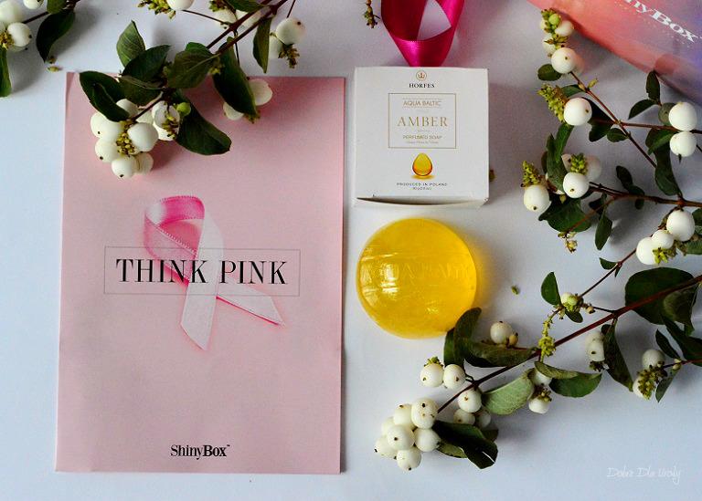 THINK PINK by ShinyBox -  Horfes Bursztynowe mydło Aqua Baltic