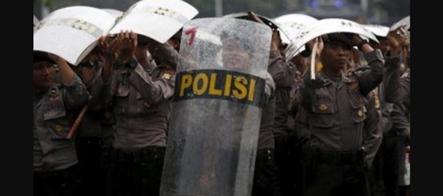 Tak Izinkan Diskusi Kekhalifahan, 1.000 Aparat Kawal Az-Zikra, Polisi : Panitia Jangan Coba-coba!
