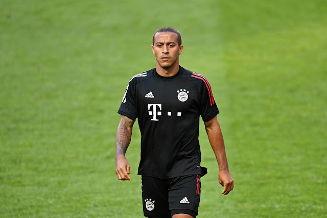 Thiago Alcantara is on his way to Liverpool from Bayern Munich