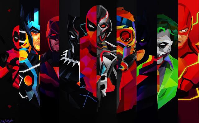 Black-Flash-HD-Wallpaper