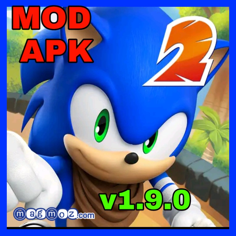 Sonic Dash 2 v1.9.0 unlimited Rings & Red Stars MOD APK