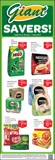 Giant Savers Milo Nestle Nescafe Kit Kat Maggi