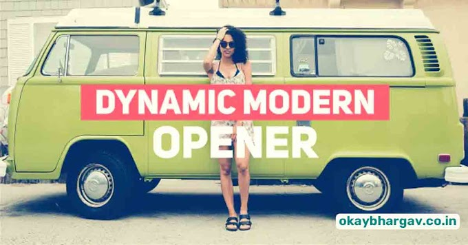 Download VideoHive Dynamic Modern Opener Free - Okay Bhargav
