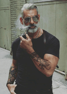 Salt and Pepper Beard for Old Men