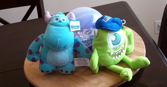 Disney Pixar Monsters University 3 Piece Room In A Box: Momma Told Me: Less Words Wednesday: Of Monsters + Babes