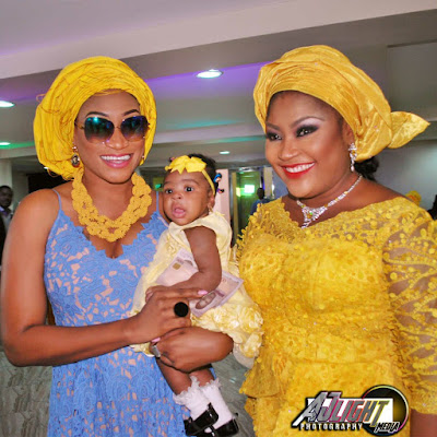 My colleagues shocked me- Uche Elendu talks about her baby dedication