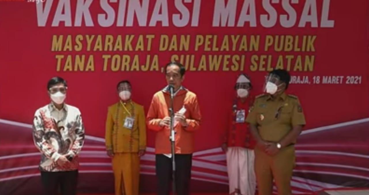 Kunjungi Sulsel, Presiden Joko Widodo Resmikan Bandara Toraja
