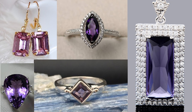 contoh desain perhiasan kecubung yang unik