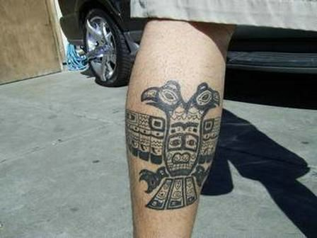 mayan eagle tattoo by johnnycasino on DeviantArt  |Mayan Eagle Tattoos