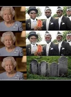 Queen Elizabeth, Coffin Dancers Meme