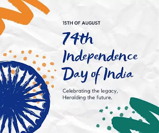 Happy independence day 2020 about 15th august