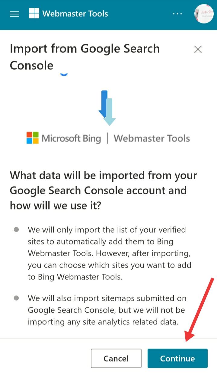 Cara mudah mendaftar Bing webmaster