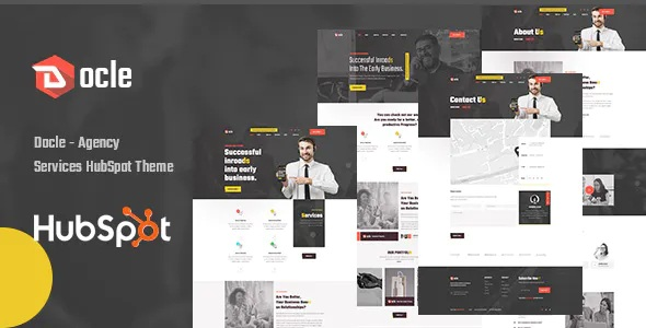 Best Agency Services HubSpot Theme