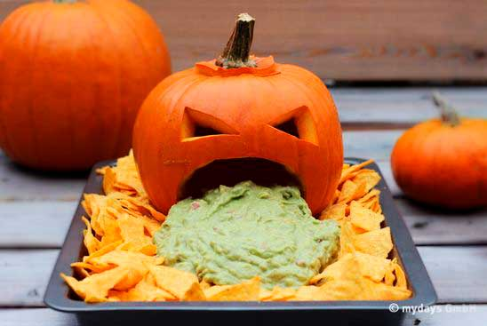 Mesa de Halloween buffet