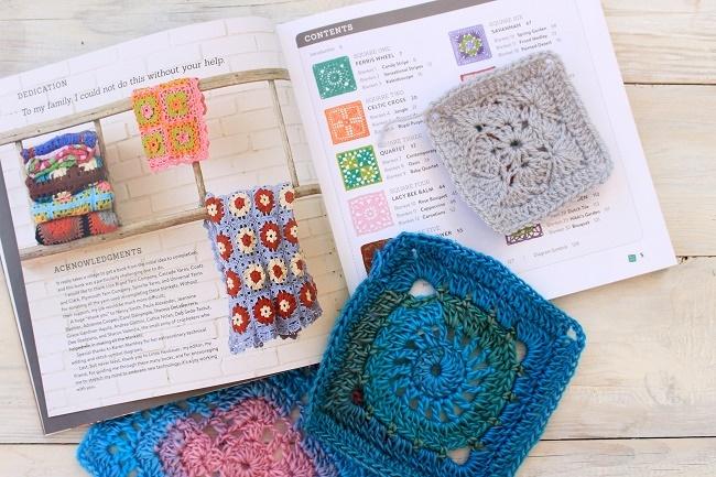 10 granny squares 30 blankets crochet book