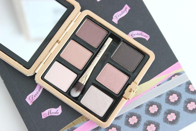 Lancôme La Palette Des Rêves palette, flatlay, review, makeup review