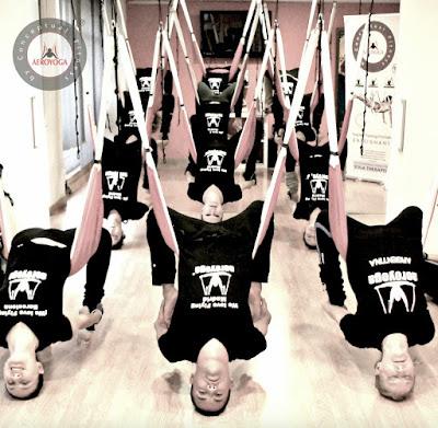 formación yoga aéreo, yoga aéreo españa, yoga aéreo madrid, aeroyoga, aeroyoga españa, qué es aeroyoga, qué es yoga aéreo, pilates aéreo, fitness aéreo, formación