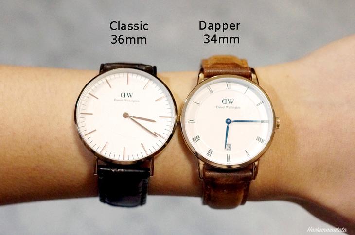Daniel Wellington Watches Dapper Durham 34mm and Classic York 36mm Comparison