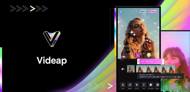 تحميل تطبيق محرر الفيديو Videap - Cool Video Editor Maker APK
