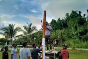 TNI Bangun Sarana Olah Raga Di Papua
