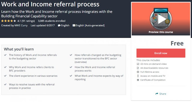 [100% Free] Work and Income referral process