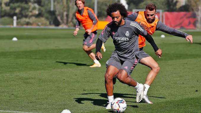 Pictures and Video: Real Madrid players continue intense training before Valladolid clash