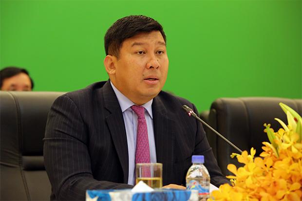 Say Samal, ministre de l'Environnement