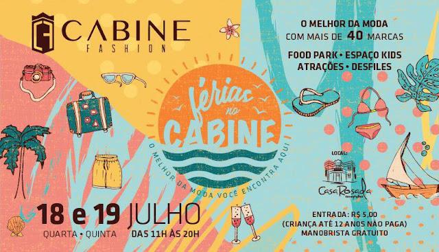programação infantil no Cabine Fashion 2018