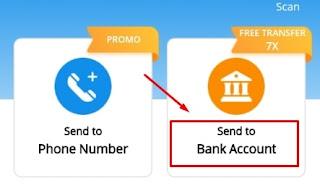 Pengiriman Ke Rekening Bank