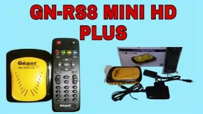 جهاز gn rs8 mini hd plus