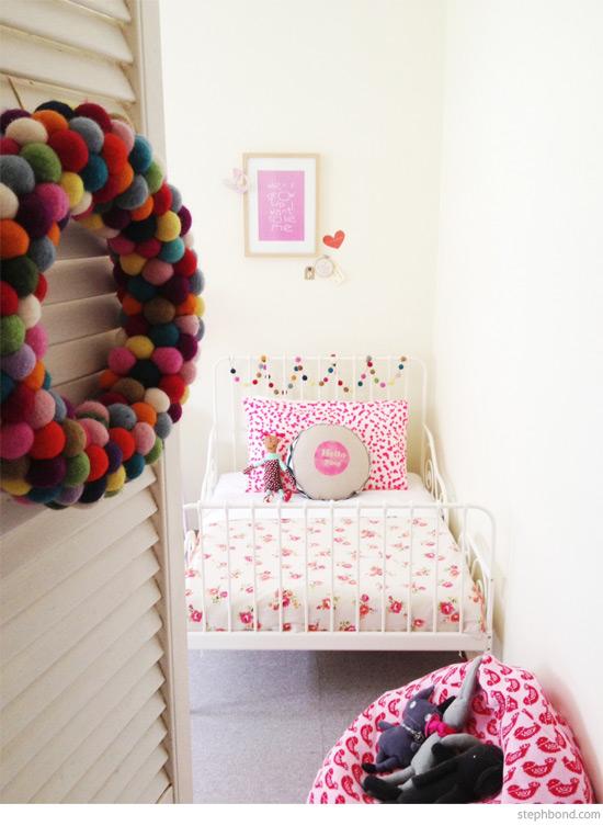 Bondville Poppy S Big Girl Room With Pops Of Fuchsia Pink
