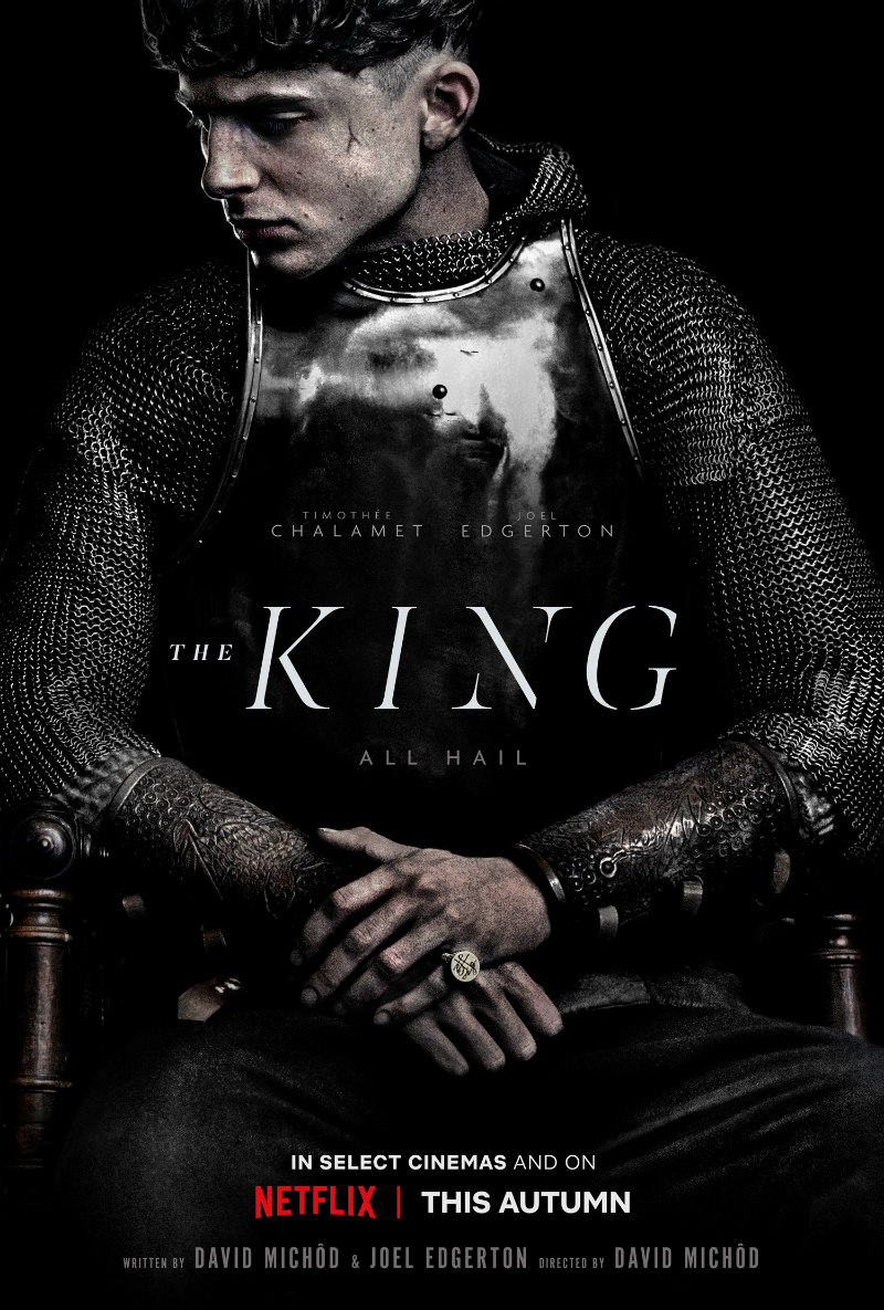 the king netflix poster