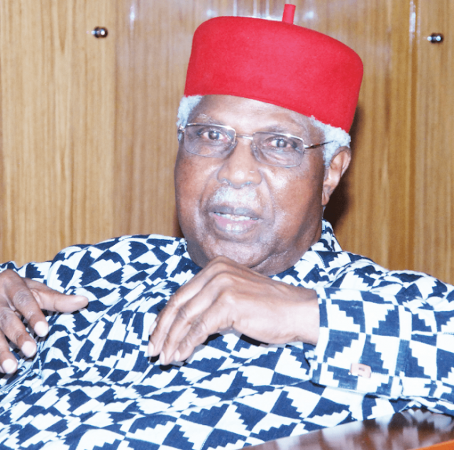 Former Vice President Dr. Alex Ekwueme Is Dead