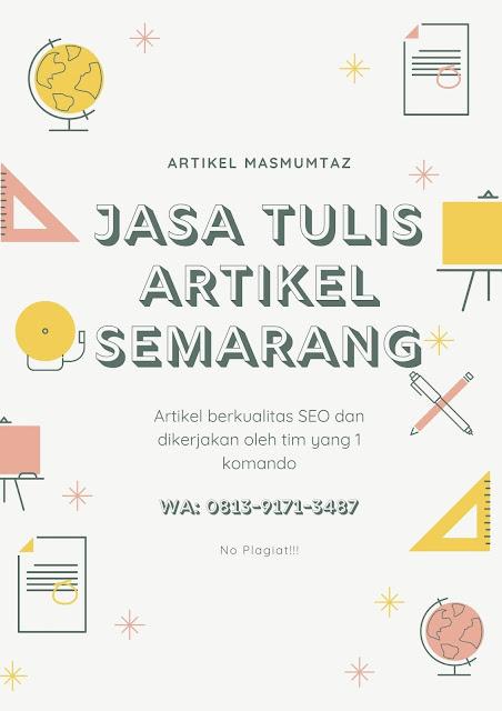 Jasa Penulis Artikel Semarang