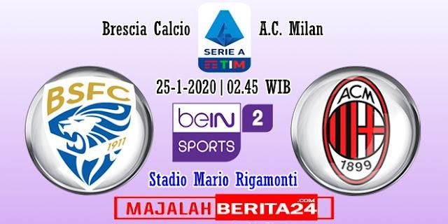 Prediksi Brescia vs AC Milan — 25 Januari 2020