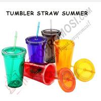 Souvenir Tumbler Straw Summer (WB-120)