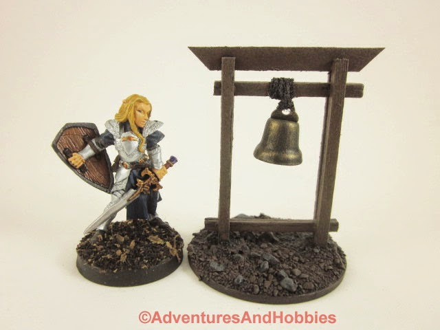 Village warning bell Fantasy war game terrain and scenery - UniversalTerrain.com
