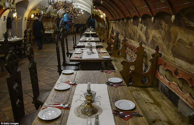 Piwnica Swidnicka is the oldest restaurant in Europe