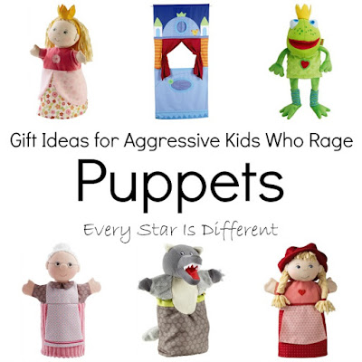 Puppet gift ideas for kids.
