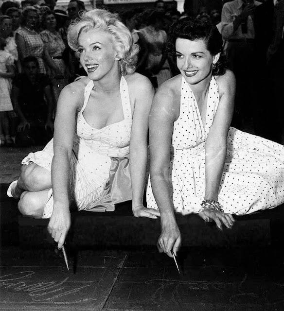 Marilyn Monroe e Jane Russel 1953