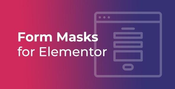 Download Premium Form Masks for Elementor PRO 1.2 Wordpress Plugin For Free