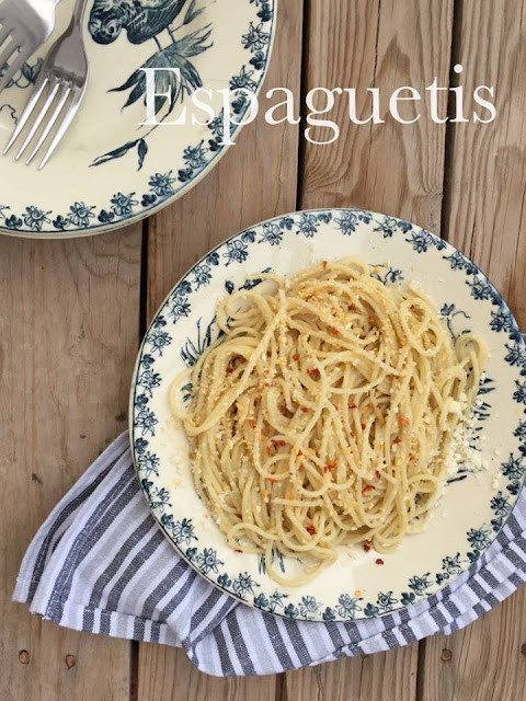 Espaguetis Al Estilo Gafax